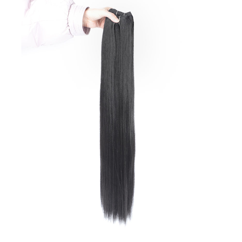 Straight Synthetic Weave Bundles Hair Blonde 613 Synthetic Bundle Hair Extensions African Hair Weaving Extension Africocudi Hair