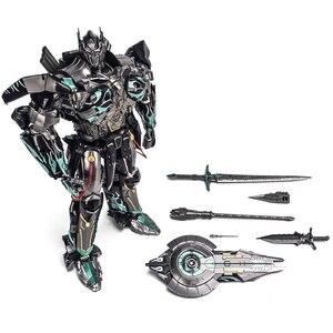 Image 5 - Figuras de acción de Transformaton UT R 02, juguetes únicos, R 02B R02 R 02V, Comandante OP, obra maestra, MPM Knight Warrior, modelo de Robot, Juguetes