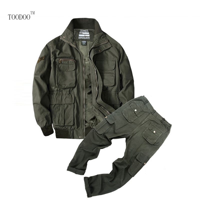 Thick Working Clothing Men Uniform Long Sleeve Coveralls Protective Overalls For Worker Wear Repairman Clothing For Winter
