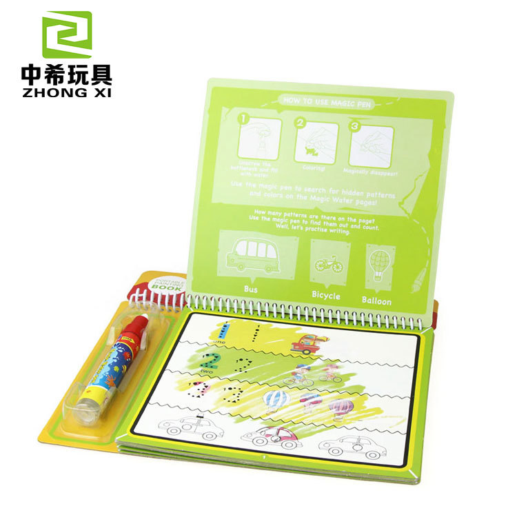 Water Explicit Drawing Board Doodle Magic Children Drawing Board Environmentally Friendly Water Picture Books On Environmentally