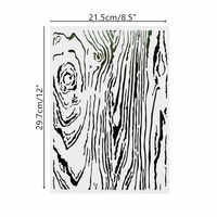 DIY Painting A4 Size Growth Ring Pattern Stencil Template For Wall Furniture Fabric Painting Decorative