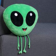 Coussin en peluche Alien Monster, jouet à la mode, amusant ET à la mode, décoration de boutique, pendentif, aventure, 33cm