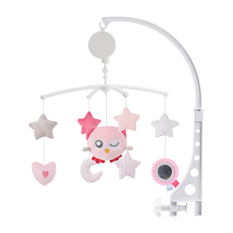 4 Styles Baby Crib Rattles Baby Toys 0-12 Months Music Box Bed Toy Carousel For Cots Mobile Toys Kids Toddler Holder Rattle Toy