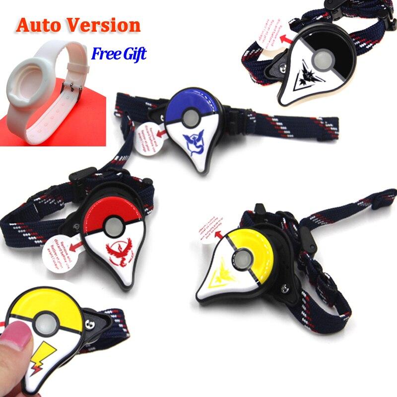 Auto Catch For Pokemon Go Plus Bluetooth Wristband Bracelet Watch Game Accessory For Nintend For Pokemon GO Plus Smart Wristband