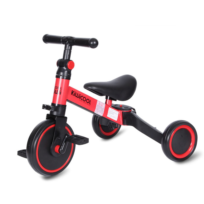 Multifunctional 3 in 1 children's tricycle baby toy scooter balance bike folding bicycle