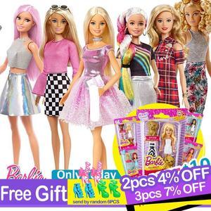 Image 1 - Originele Barbie Fashion Dolls Assortiment Fashionista Meisjes Reborn Pop Baby Prinses Meisje Speelgoed Voor Kids Bonecas Poppen Juguetes
