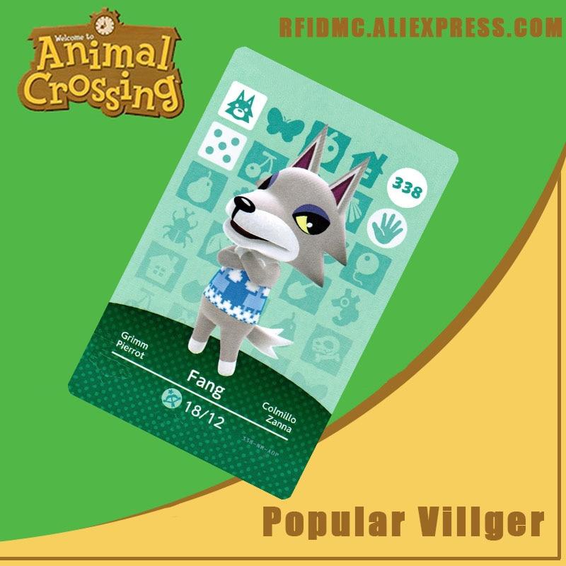 338 Fang Animal Crossing Card Amiibo For New Horizons