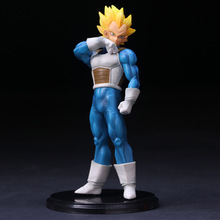 цена на 18cm One piece Dragon Ball Z Vegeta Action Figure PVC Collection Model toys brinquedos for christmas gift B792