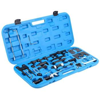 Belt Pins Engine Timing Tool Kit Camshaft Sprocket Removal Flywheel Locking For VW Audi Alignment