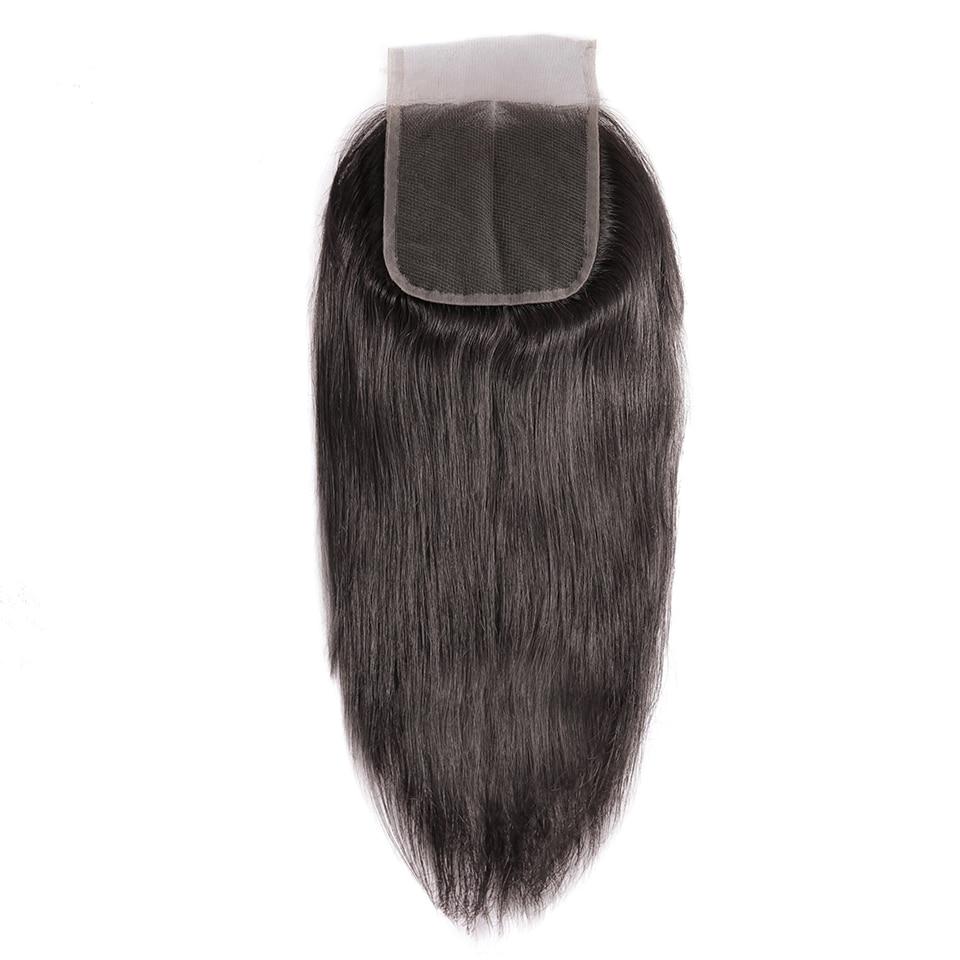 H8c39577716f840718e8d29b21a99695d2 HJ Weave Beauty Straight Human Hair Bundles With Closure 30inch Brazilian Hair Weave Bundles 7A Virgin Hair Bundles With Frontal