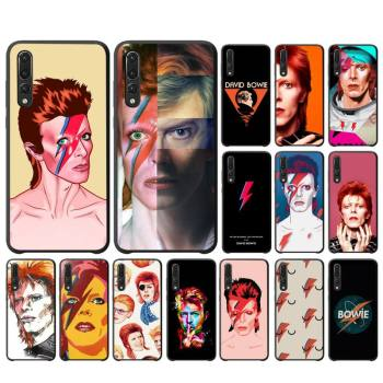 FHNBLJ David Bowie Custom Soft Phone Case For Huawei P10 20 30 40 Lite P20Pro P30Pro P40Pro Psmart image