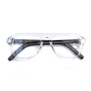 Image 5 - Kingsman2 The Golden Circle Optical Glasses For Man Acetate Frame Glasses Eyewear