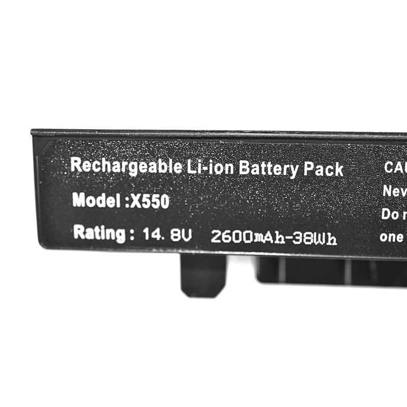 Image 5 - 14.8v Battery For Asus A41 X550 A41 X550A  K550 P450 P550 R409 R510 X450 X550 X550C X550A X550CA A450 A550 F450 F550 F552-in Laptop Batteries from Computer & Office on