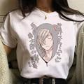 Короткая футболка с героями из японского аниме «Клуб женская футболка Yarichin Harajuku Kawaii топы с героями мультфильма «Школа