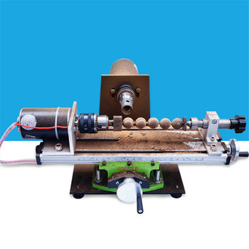 220V Small Lathe machine Home Diy Wooden Beads Jade Grinders Buddha Beads Drilling Hole Punch Spin Mini machining Punch Tools home small diy jade beeswax buddha beads hole puncher drilling machine hole punch electric high power pearl punching tools