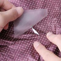 Parches de tela transparentes impermeables autoadhesivos adhesivo de nailon para exteriores, cinta de reparación, accesorios deportivos