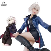 Rolecos Fgo Alter Cosplay Fate Grand Order Anime Kostuums Mash Kyrielight Sabel Cosplay Vrouwen Sexy Kostuums Game Jeanne D'arc(China)