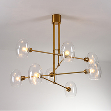Decor Designer Chandelier Lighting For Living Room  Nordic Dinning Room Chandelier Glass Light Fixture For Bedroom/Study Room