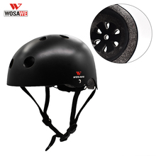 Motorbike Helmets Safety-Hat Kids Children Integrally-Molded Cute WOSAWE Bicycle-Protection