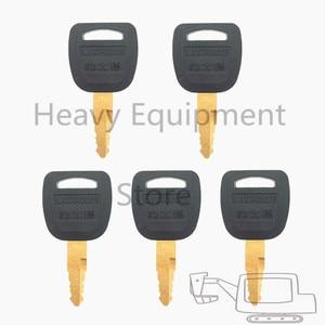 Image 1 - 5 قطعة معدات ثقيلة مفتاح ل Lishide وحدة تحميل للحفّارات