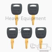 5 PCS Schwere Ausrüstung Key Für Lishide Bagger Loader