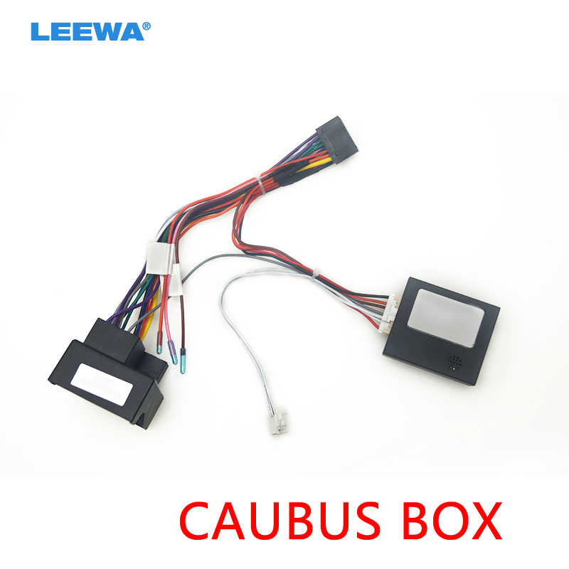 leewa car 16pin power wiring harness cable adapter with canbus for bmw e39(01  04)/e53(01 05) install stereo aftermarket #ca6437|cables, adapters &  sockets| - aliexpress  aliexpress