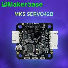 Makerbase Mks SERVO42B NEMA17 STM32 Gesloten Loop Stappenmotor Driver Cnc 3d Printer Onderdelen Voorkomt Verliezen Stappen Voor Gen L sgen L