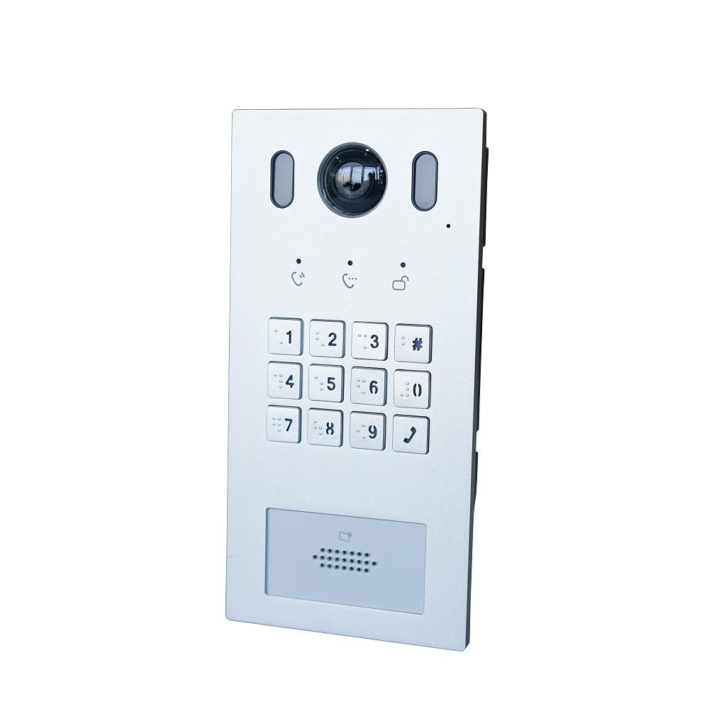 DH Logo VTO3221E-P PoE(802.3af) IP Metal Villa Doorbell ,Door Phone,doorbell,IP Video Intercom, Call To Phone App,SIP Firmware