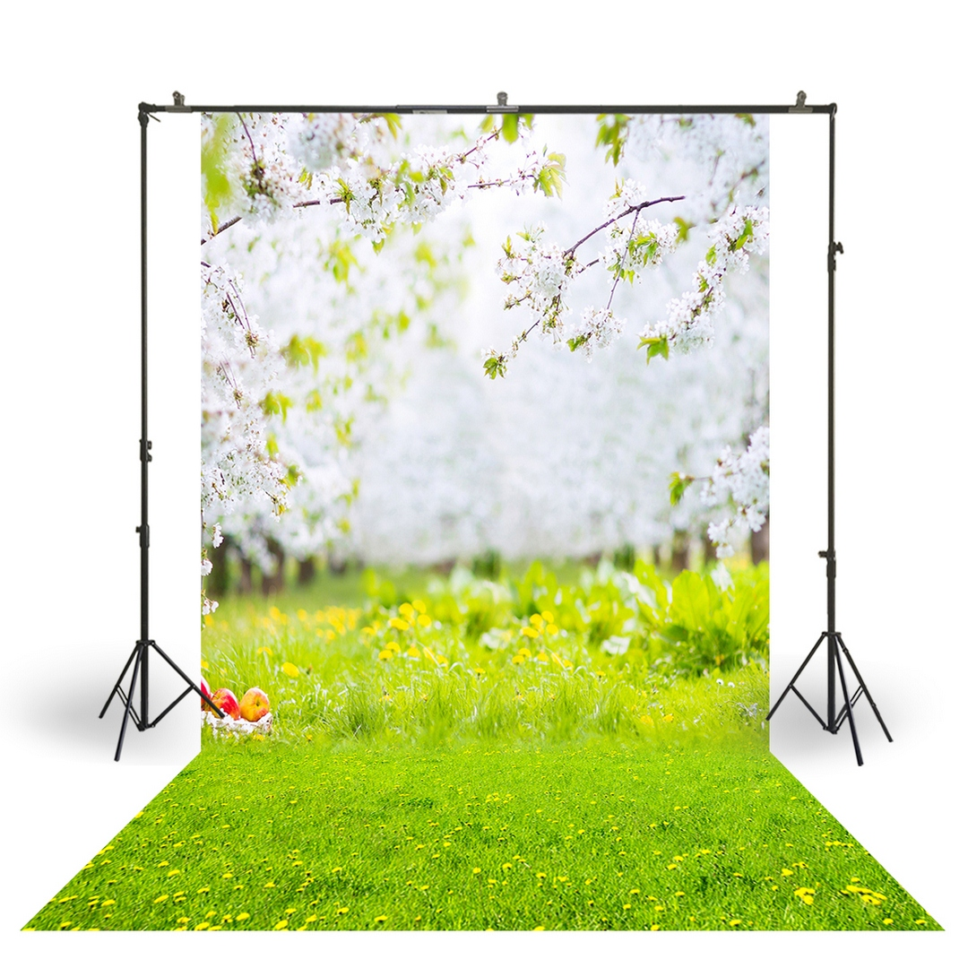 Aosto Photography Backdrop Easter Spring Watercolor Carrot Photo Booth Background Newborns Child Birthday Studio BackdropXT-5648
