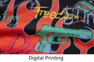 Image 5 - Cooo Coll Men women Hoodies freedom hip hop loose justin bieber printing flame Graffiti skateboard black sweatshirt tops hoody