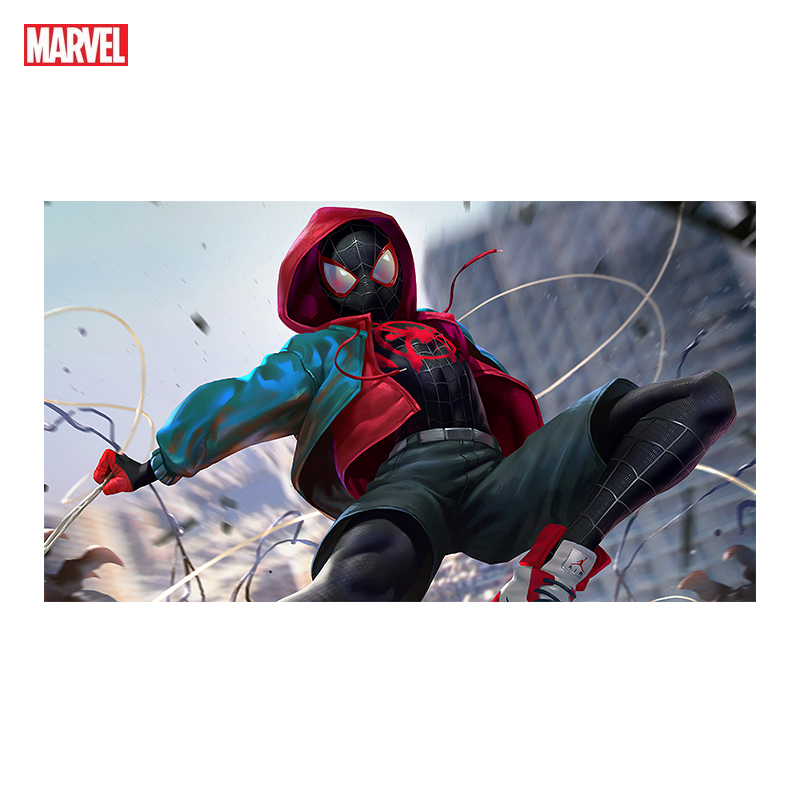 Superhero Marvel Poster Spiderman Character Painting Canvas Painting Printmaking Mural Art Home Decoration Children Room Gift