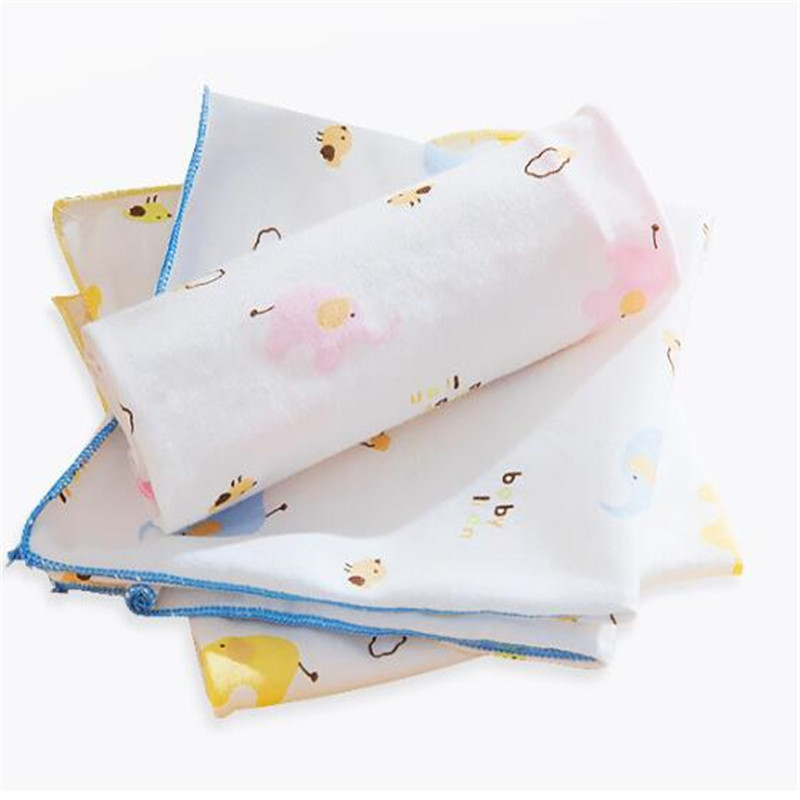 3PCS/set Baby Small Square / Feeding Napkin Soft Organic Cotton Baby Blanket Muslin Swaddle Wrap Feeding Burp Cloth Towel Scarf