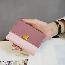 Vintage Women Wallets Leather Purse Pink Female Purse High Quality Hasp Ladies Clutch Wallet Slim Card Holder Coin Pocket Wallet sendefn women wallets genuine leather lady purse small short wallet female vintage purses card holder ladies wallet pink purple