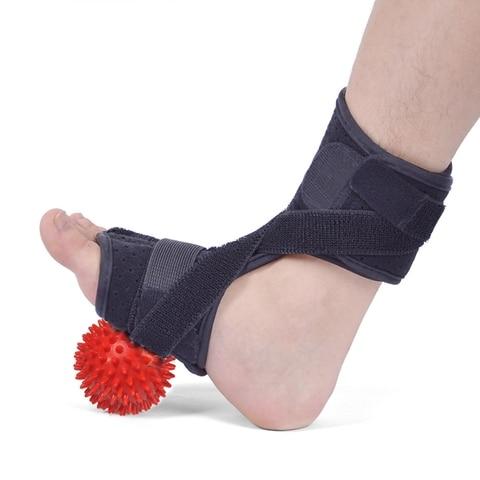 Suporte do pé com Bola do Massager Ajustáveis da Aptidão do Envoltório do Protetor da Compressão Esportes Protetores