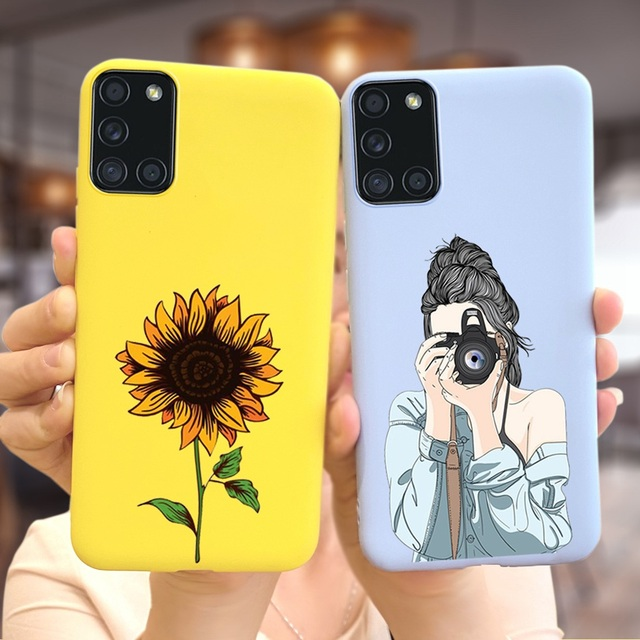 For Samsung Galaxy A21s A02s A31 A41 A51 A71 A91 Case Soft Slim New Stylish Cover Case For Samsung A 21s 02s 31 41 51 71 91 Bags 2