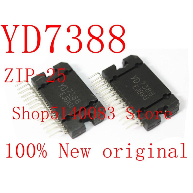 1 pièces TDA7388 CD7388CZ YD7388 7388 ZIP-25 AUTOMOBILE amplificateur bloc puce IC nouveau