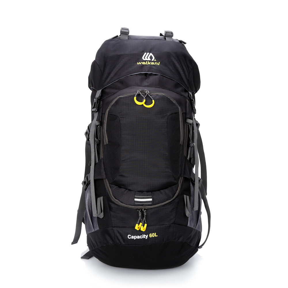 60L Liters Outdoor Profession Mountaineering Bag Sports Travel Waterproof Backpack Hiking Camping Mountaineering Bag Backpack