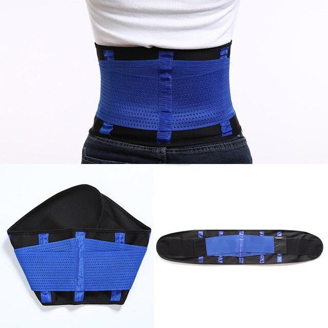 Woman Man Sport Waist Support Belt,Adjustable Lumbar Back Sweat Belt,Fitness Slimming Modeling Body Shaper Waist Trainer Corset 1