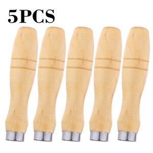 5pcs Wood File Handle Polishin