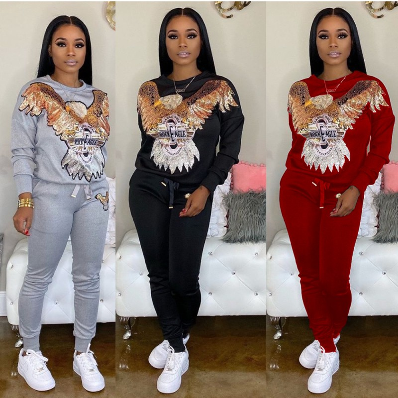 2 Piece Women Set Africa Clothing 2020 African Dashiki New Dashiki Fashion Suit (Top And Trousers) Party Plus Size For Lady