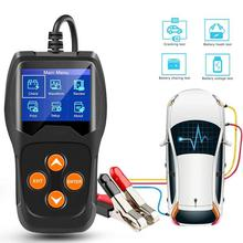 цена на 12V Battery Tester for Auto Car/Motorcycle Digital Battery Analyzer Battery Scanner Multi Languages Vehicle Battery Diagnostic