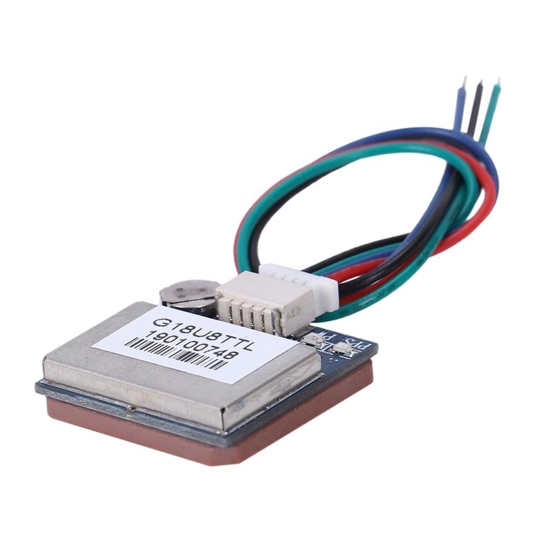 G18U8TTL, módulo de navegación BDS GPS GLONASS, Chip amplificador LNA para Arduino Betaflight CC3D FPV, Control de vuelo, vehículo, PDA, etc.