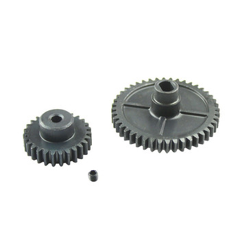 Metal Reduction Gear & Motor Gear Kit for 1/14 WLtoys 144001 4WD RC Car Accessories Parts  цена 2017