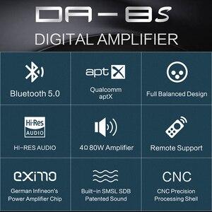 Image 2 - SMSL DA 8S 80 W/PC מלא מאוזן Bluetooth5.0 דיגיטלי מגבר AMP 80 W/PC מלא מאוזן Bluetooth מרחוק תמיכת aptX דה 8S DA8S