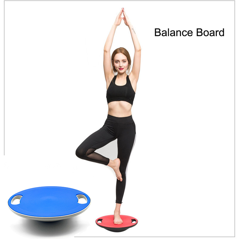 40 CM Balance Board Universal Healthy Wobble Balance Board Stability Disc Yoga Training Sports Exercises Wobble Fitness Board