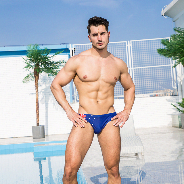 Sexy Summer Flag Swimming Trunk 1