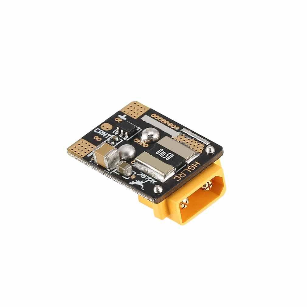 HGLRC كدس XT30 التوصيل 16.8V 4S 80A الحالي جهاز قياس الاستشعار ل RC وحدة تحكم في الطيران الدبور FPV سباق Drone أجزاء اكسسوارات hz