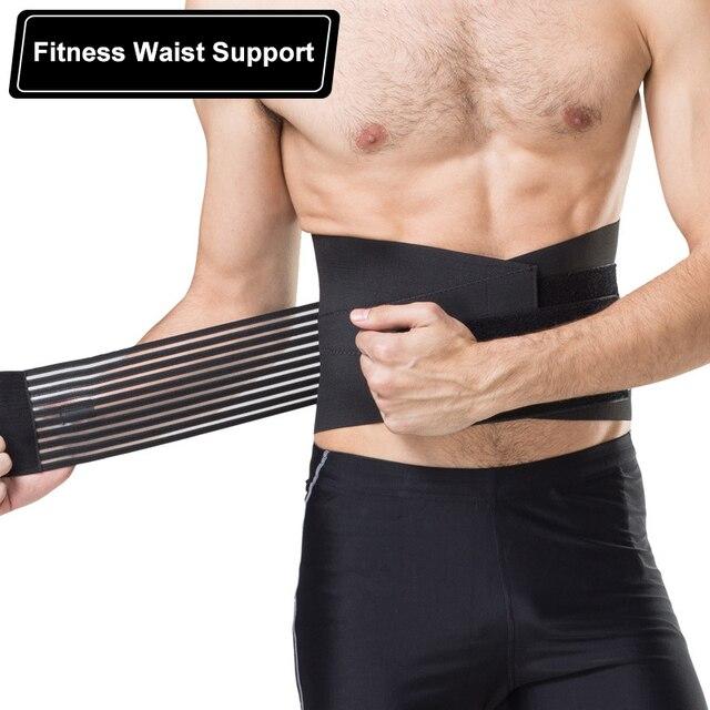 Men Women Nylon Waist Trimmer Belt Weight Loss Sweat Band Wrap Fat Tummy Stomach Sauna Sweat Belt For Gym Fitness Waist Support
