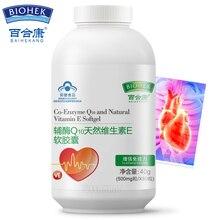 Коэнзим Q10 500 мг мягкие желатиновые капсулы Coq10 добавка для здоровья сердца ниже высокого кровяного давления