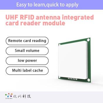 Ultra thin built-in ceramic integrated antenna for UHF UHF RFID handset Iso18000-6c UHF RFID integrated reader module ttl232